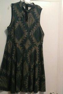Flare Dress 2X